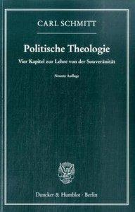 """Карл Шмітт """"Політична теологія"""" (1922)"""